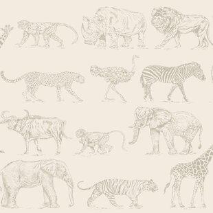 Buy Animal Wallpaper You Ll Love Wayfair Co Uk