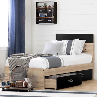 Induzy Platform Bed with Drawers by South Shore