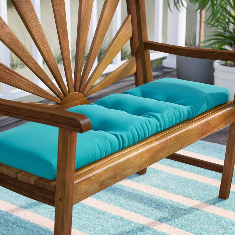 Tufted Indoor Outdoor Bench Cushion