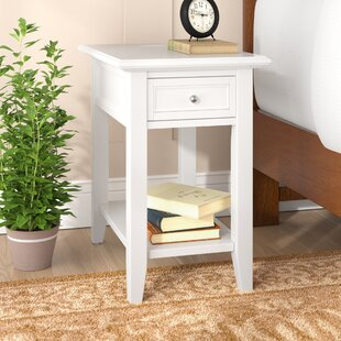 Ellicott End Table With Storage by Three Posts