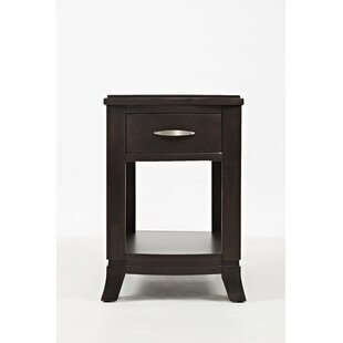 Gautreau Transitional Wooden Chairside End Table by Red Barrel Studio