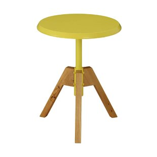 Hundley Tripod Wooden End Table by Wrought Studio