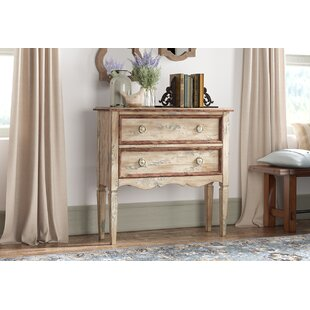 Romaine 2 Drawer Accent Chest by August Grove