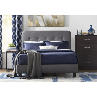Wrought Studio Heredia Upholstered Platform Bed
