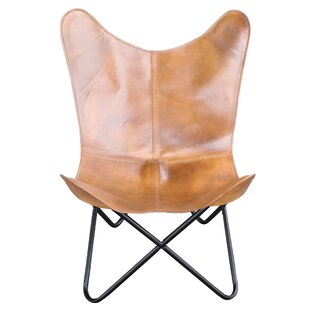Amazing Newburg Natural Leather Butterfly Chair Creativecarmelina Interior Chair Design Creativecarmelinacom