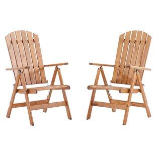 Irinna Folding Garden Chair (Set Of 2) By Sol 72 Outdoor