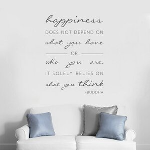 Inspirational Wall Decals Youll Love Wayfair - Can i put a wall decal on canvas