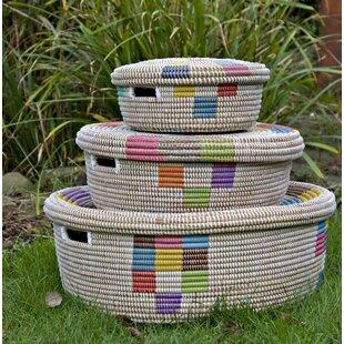 3 Piece Laundry Basket Set By Latitude Vive