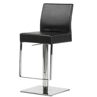 Emert Hydraulic Adjustable Swivel Bar Stool by Orren Ellis