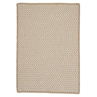 Outdoor Houndstooth Tweed Cuban Sand Rug