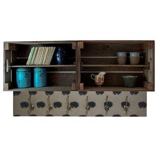 Blaine Double Apple Box Accent Shelf By August Grove