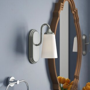 Federico 1-Light Bath Sconce by Charlton Home