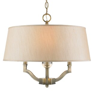 Edmondo 3-Light Semi Flush Mount by Willa Arlo Interiors