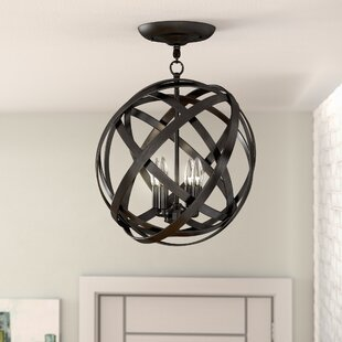Nilda 4-Light Semi-Flush Mount by Ivy Bronx