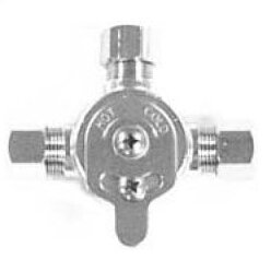 Mechanical Mixing Valve In Chrome Plate Finish by Sloan