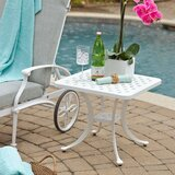 Flagg Cast Aluminum Side Table