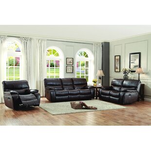 Red Barrel Studio Beck Reclining Configurable Living Room Set