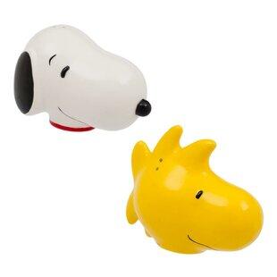 Peanuts Snoopy and Woodstock Salt & Pepper Shaker Set