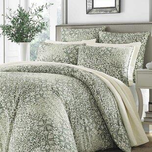 Mahon 100% Cotton 3 Piece Comforter Set