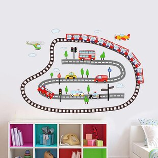 Kidu0027s Transport Wall Decal