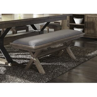 Gracie Oaks Cleaver Dining Bench