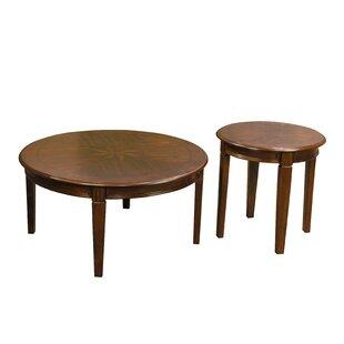 Alcott Hill Grundy 2 Piece Coffee Table Set