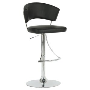 Adjustable Height Swivel Bar Stool by Mon..