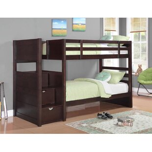 Harriet Bee Ventura Twin Over Twin Bunk Bed