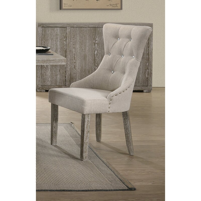 Ophelia Co Shorehamby Upholstered Dining Chair Wayfair Ca