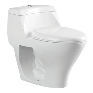 Kingston Brass Congress 1.6 GPF Elongated One-Piece Toilet