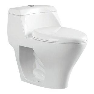 Kingston Brass Congress 1.6 GPF Elongated One-Piece Toilet Image