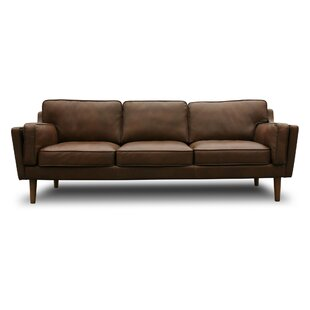 Modern Leather Sofas + Couches | AllModern
