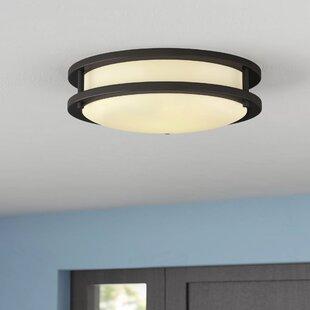 Ebern Designs Mona 1-Light LED Flush Mount