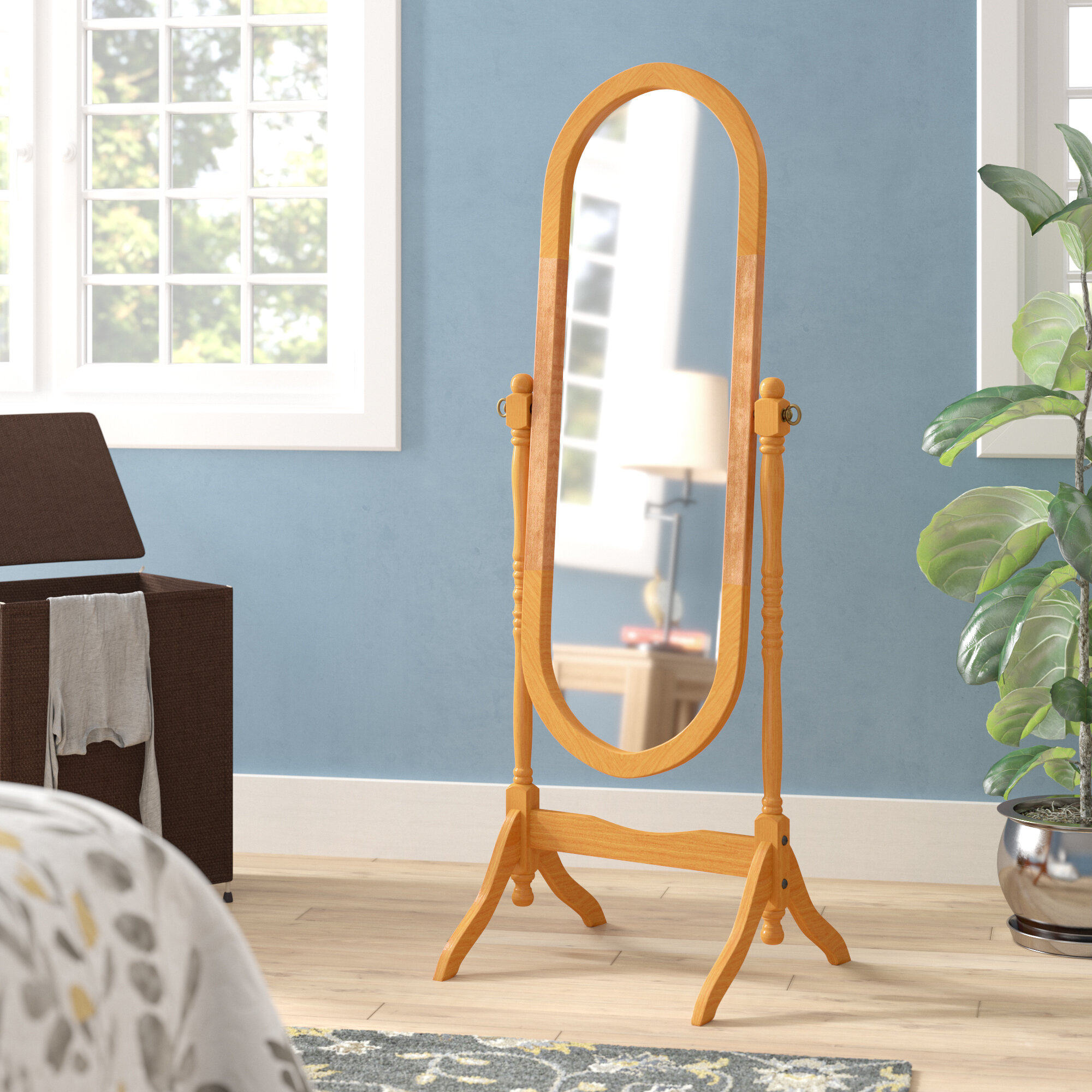 Oval Floor Mirrors Free Shipping Over 35 Wayfair