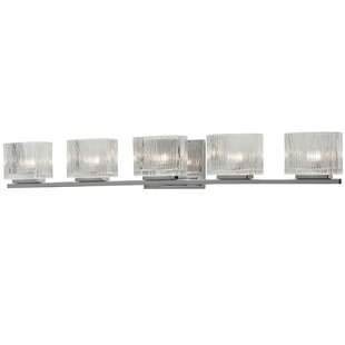 Latitude Run Wybron 5-Light Vanity Light