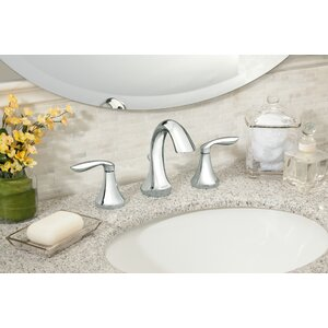 Eva Widespread Double Handle Bathroom Faucet