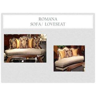 Romana 2 Piece Living Room Set
