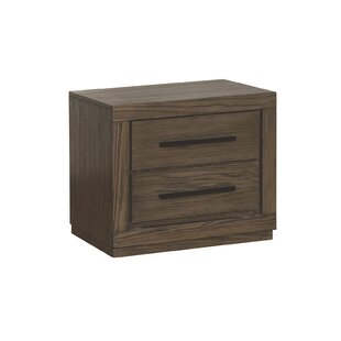 Baringer 2 Drawer Nightstand by Union Rustic