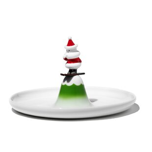 Holiday Figurines Scia Natalino! Pastry Platter