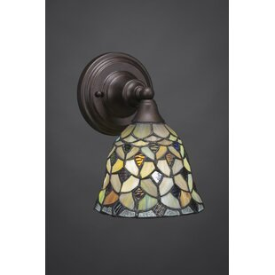 Compare prices Ratchford 1-Light Armed Sconce By Astoria Grand
