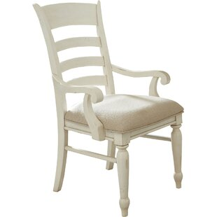 Georgina Ladder-Back Arm Chairs (Set of 2) Birch Lane™ Heritage