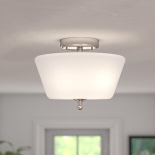 Reynal 2-Light Semi-Flush Mount by Charlton Home