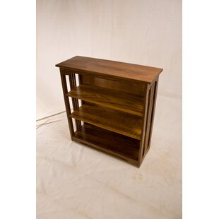 Stephon 3 Shelf Spindle Standard Bookcase