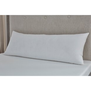 Pitts Medium Fiber Standard Body Pillow