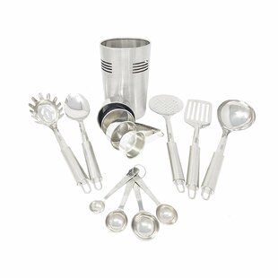 14 Piece Burse Stainless Steel Utensil Set