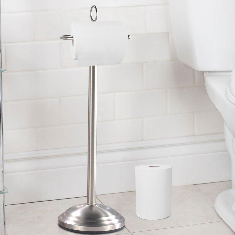 toilet tissue holder. Free Standing Toilet Tissue Holder T