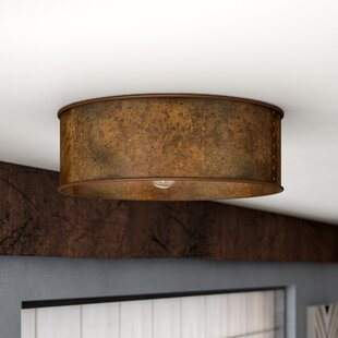 Vincent 3-Light Flush Mount by Trent Austin Design