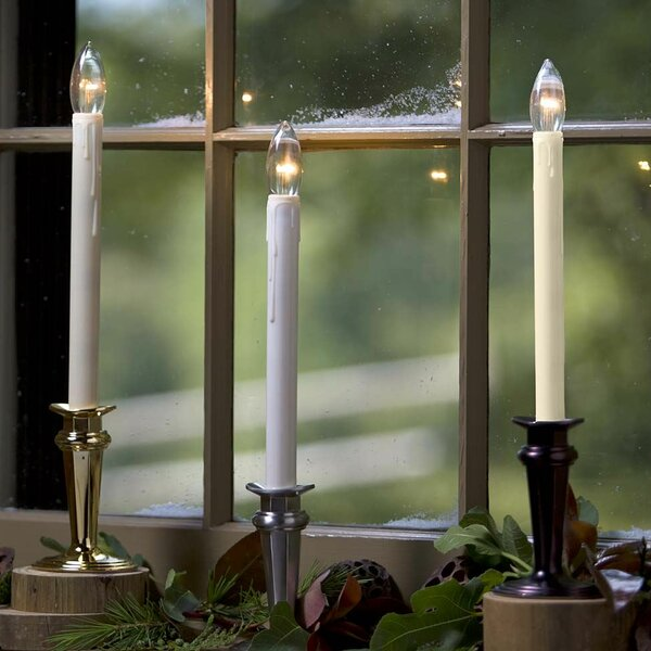 battery operated window candles with timer cordless window wind weather traditional adjustable window candle light with auto timer reviews wayfair