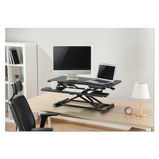 Symple Stuff Kanode Height Adjustable Standing Desk Converter