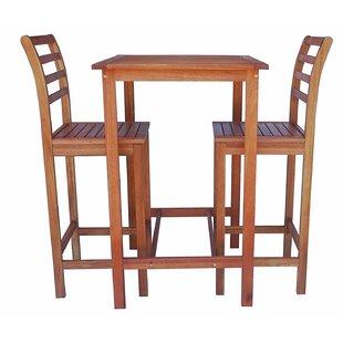 3 Piece Pub Table Set by Zen Garden